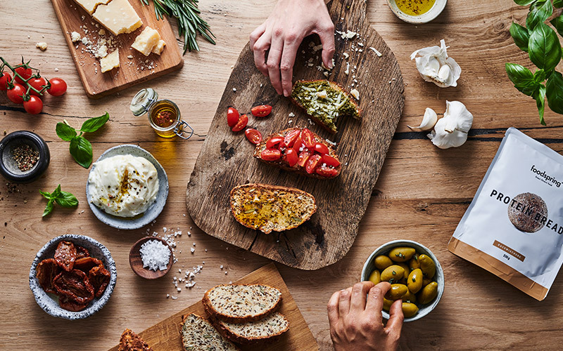 protein_bread_with_olive_oil