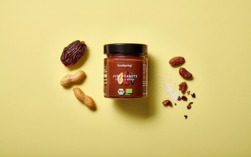 Just Peanuts Cocoa and Dates